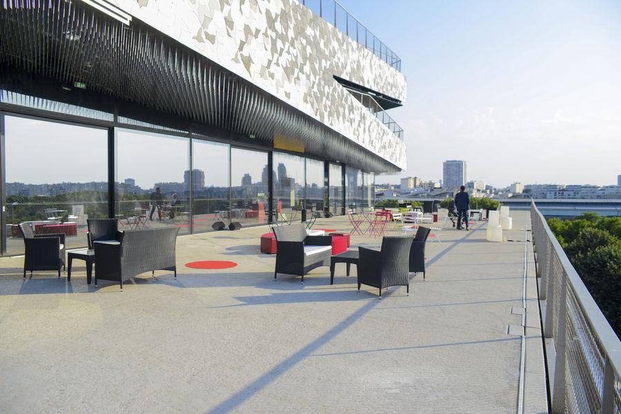 Cité de La Musique - Philharmonie de Paris Grand salon panoramique avec terrasse