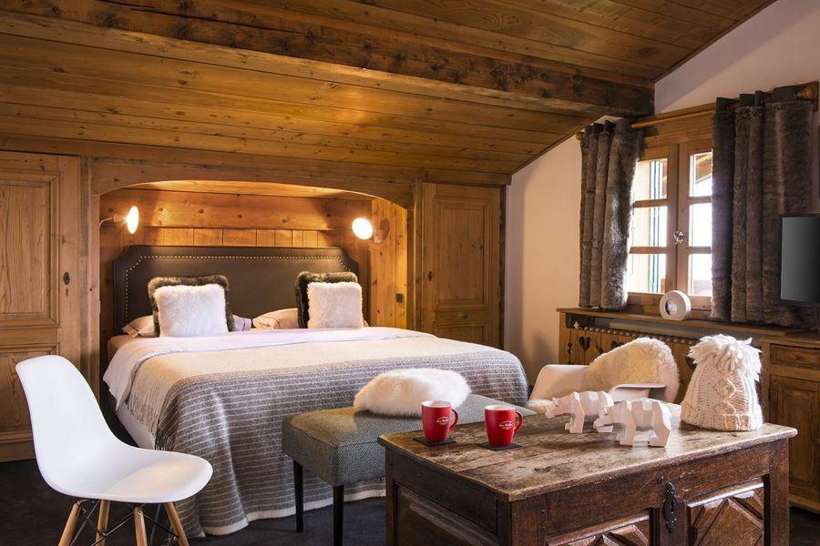Les Roches Hôtel & Spa **** Chambre