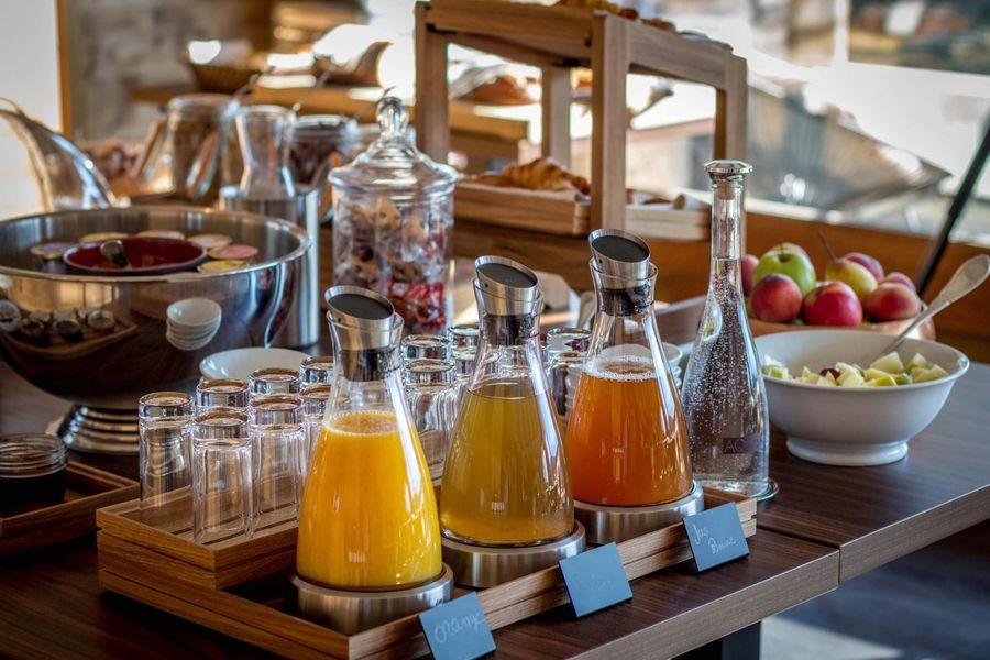 Les Roches Hôtel & Spa **** Petit-déjeuner