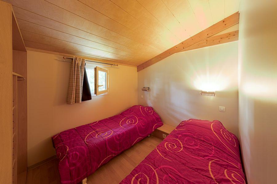 Domaine de Miraval cmambre 2 petit lit