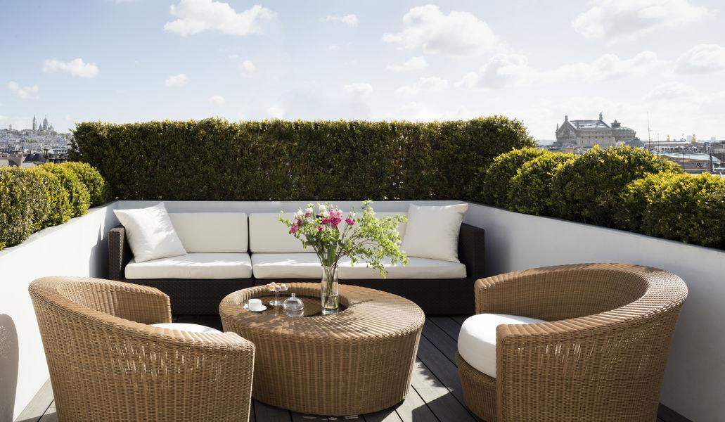 Hyatt Paris Madeleine ***** Terrasse Suite Présidentielle