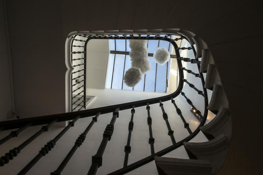 Hôtel Particulier Lyon escaliers