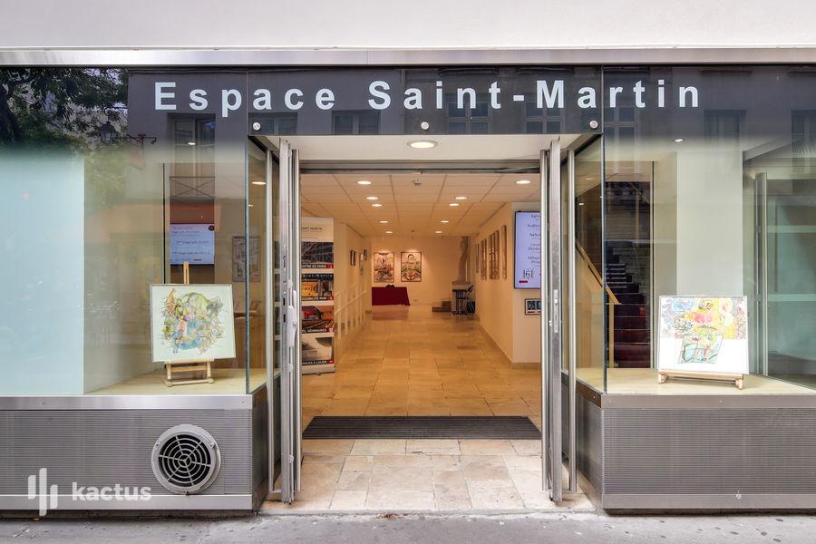 Espace Saint Martin  Façade