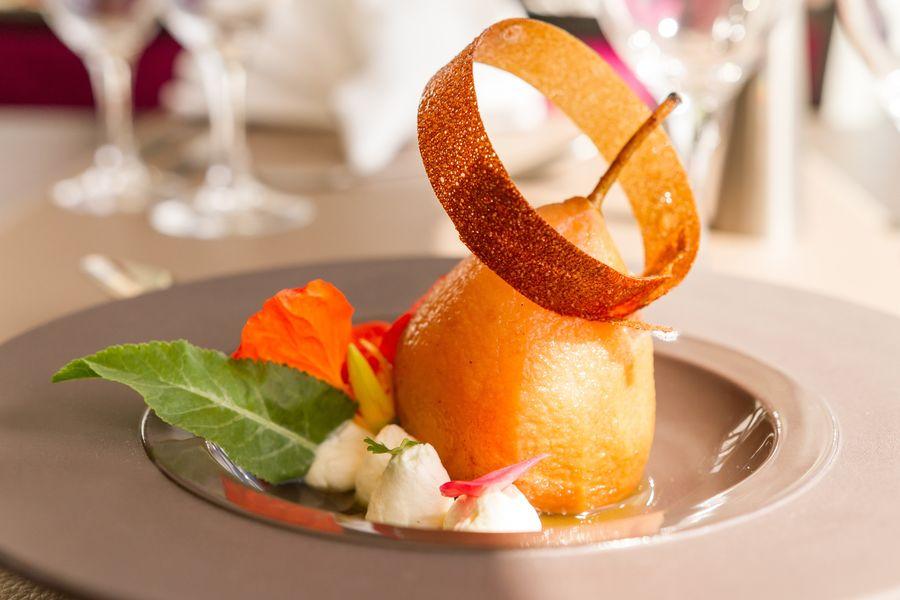 Hôtel des Chateaux Dessert restaurant