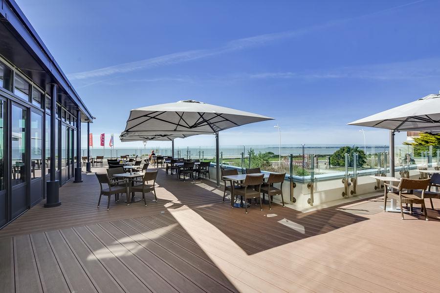 HOTEL SPA CASINO DE ST BREVIN L'OCEAN  Terrasse panoramique