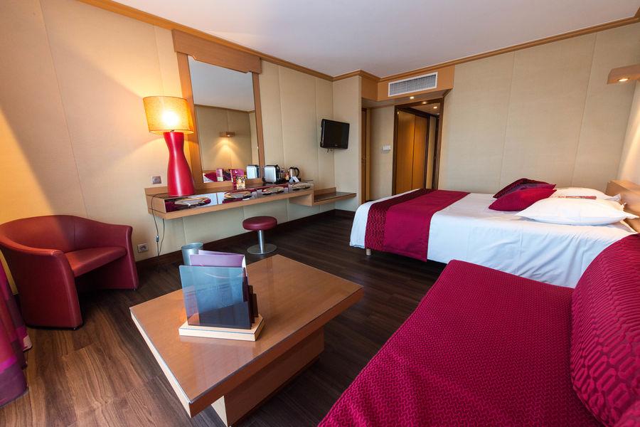 HOTEL SPA CASINO DE ST BREVIN L'OCEAN  Nouvelle chambre relookée en 2017