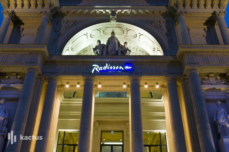 Radisson Blu Hôtel Nantes **** Façade