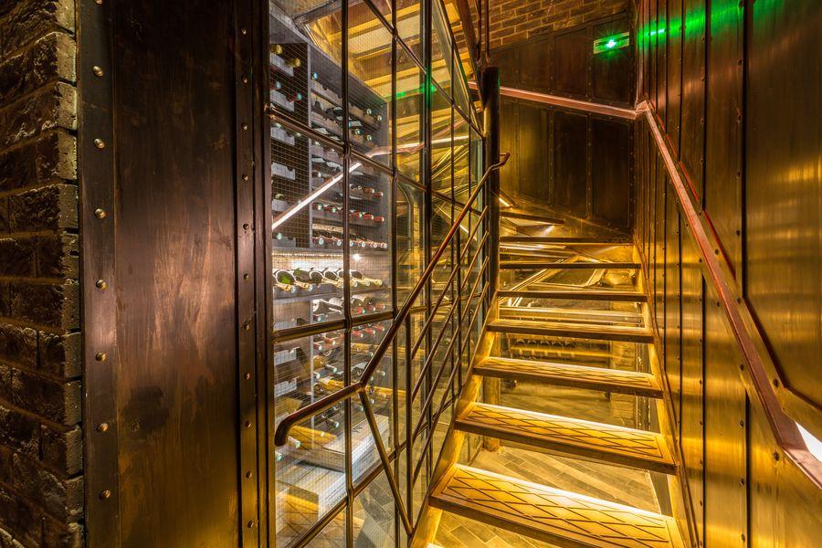 Trader's Escalier Celier Boiler Room