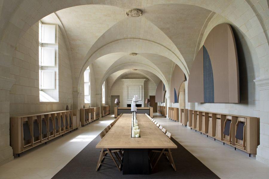 Abbaye de Fontevraud Grand Réfectoire