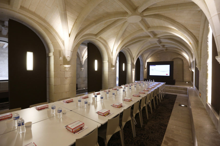 Abbaye de Fontevraud Salle de réunion