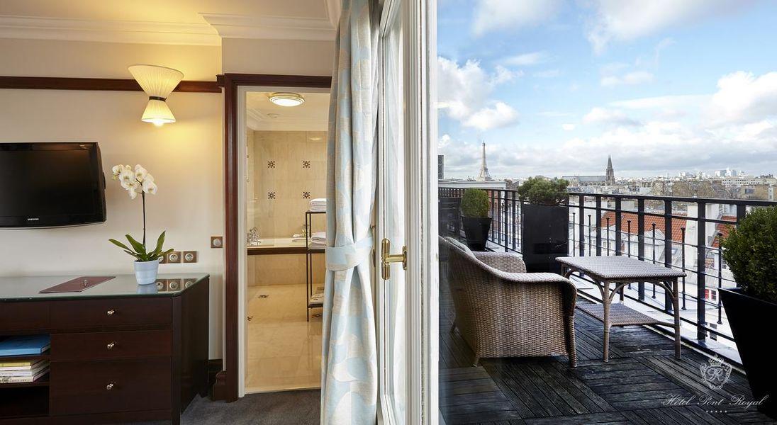 Hôtel Pont Royal ***** Chambre
