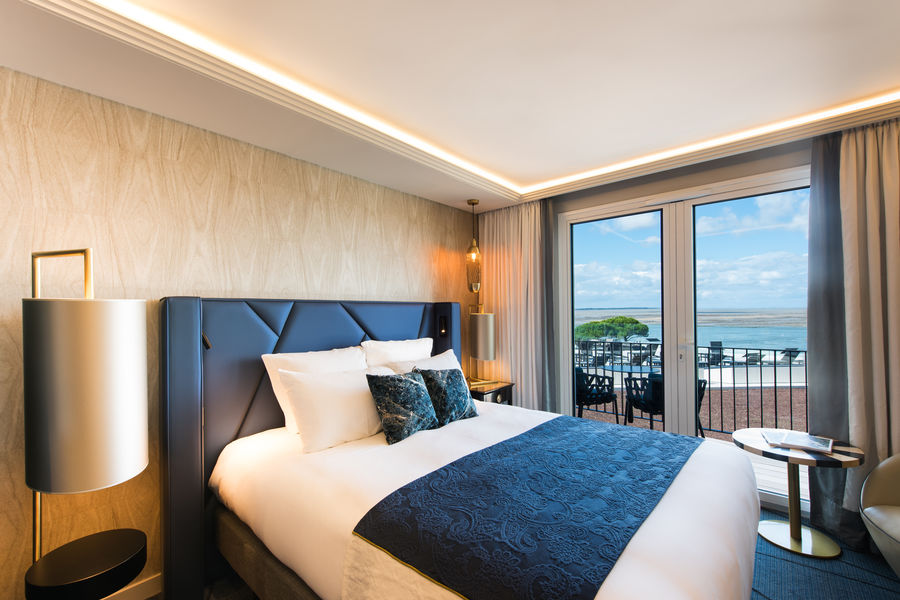 La Grande Terrasse hôtel & spa La Rochelle MGallery by Sofitel Chambre Supérieure vue mer