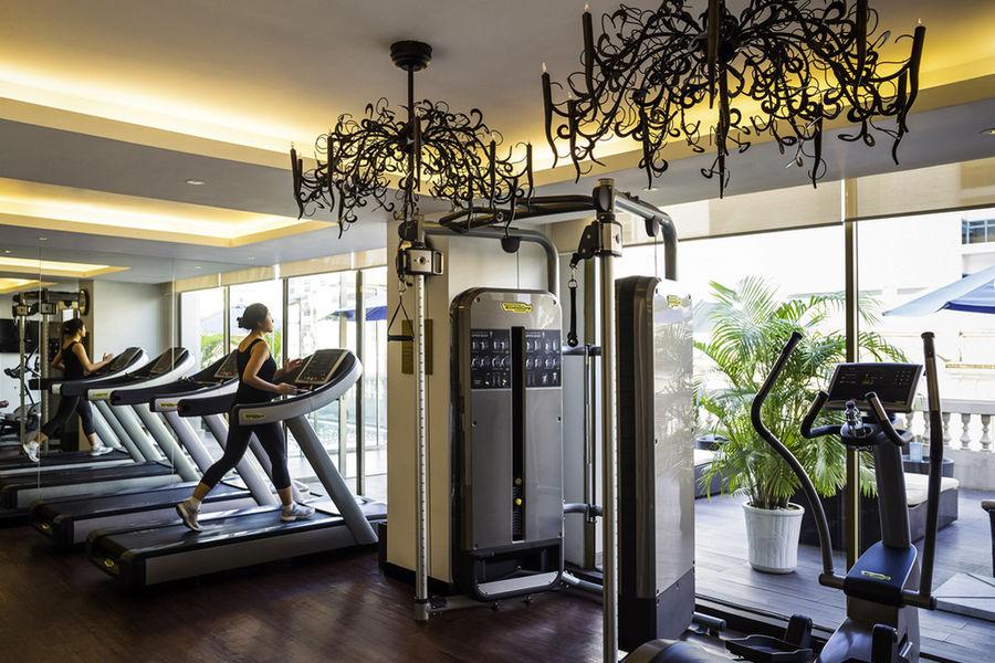 La Grande Terrasse hôtel & spa La Rochelle MGallery by Sofitel Salle de fitness