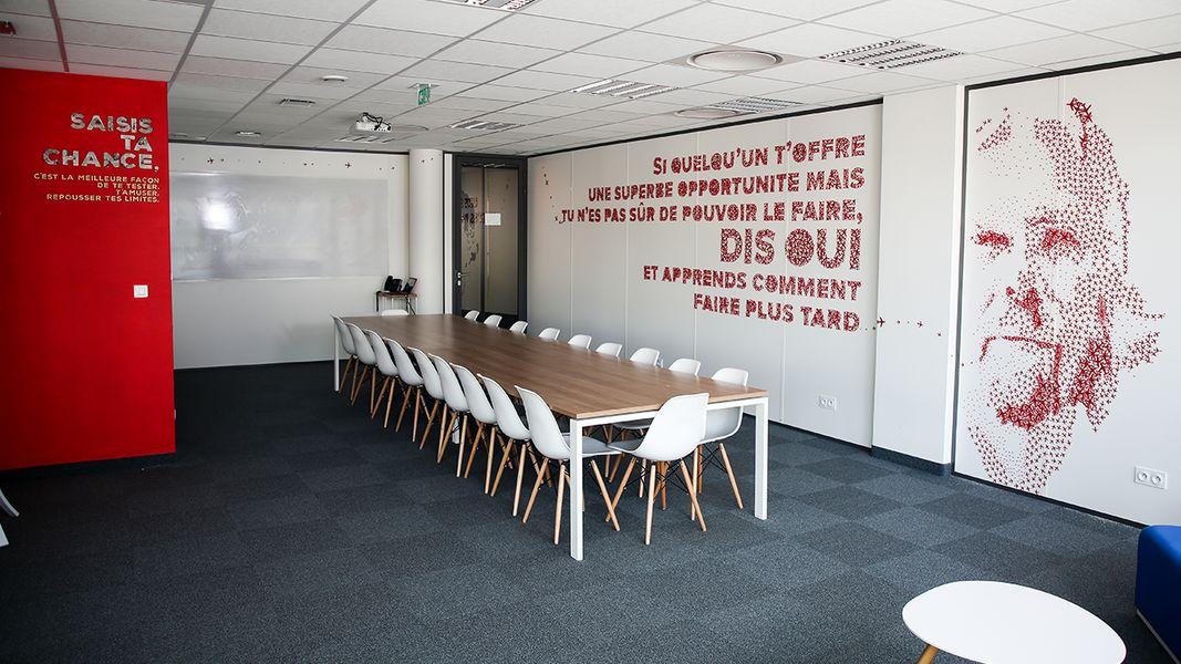 Entrepreneurial People Salle de Réunion Richard Branson