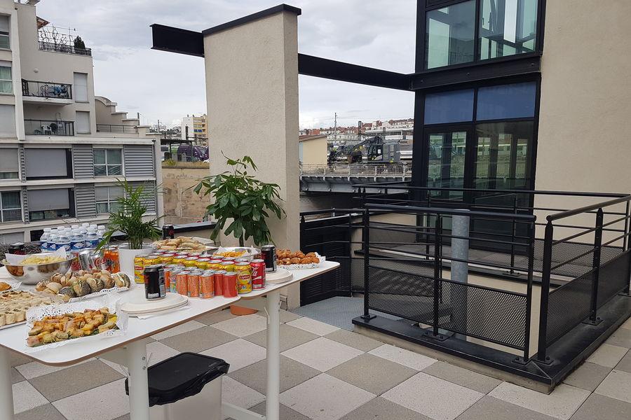 Entrepreneurial People Espace détente - Terrasse