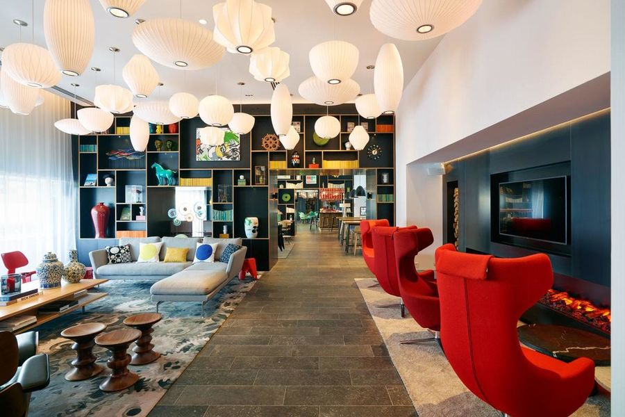 CitizenM Paris Gare de Lyon Hall