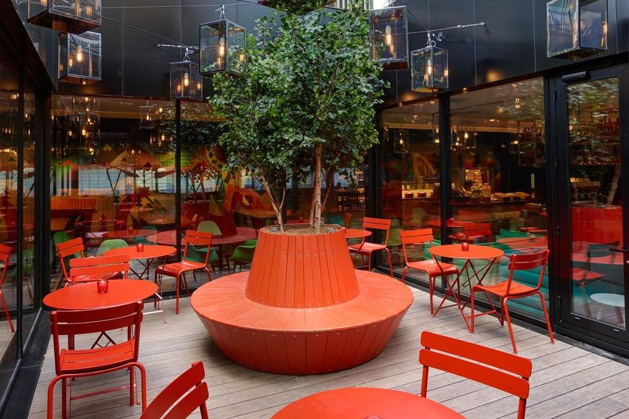 CitizenM Paris Gare de Lyon Patio