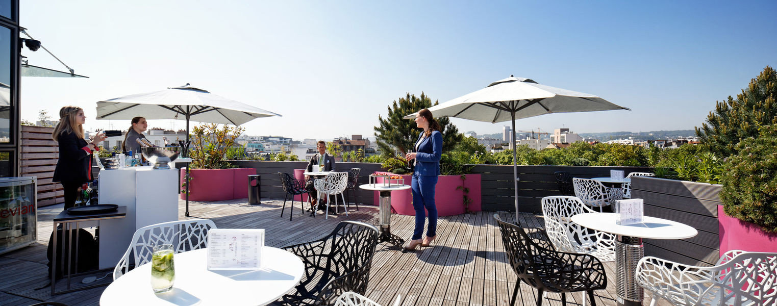 Courtyard by Marriott Paris Boulogne **** Rooftop privatisable