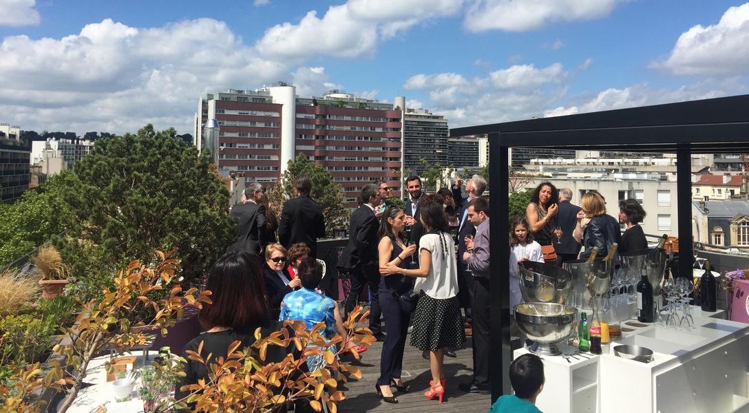 Courtyard by Marriott Paris Boulogne **** Cocktail sur le rooftop
