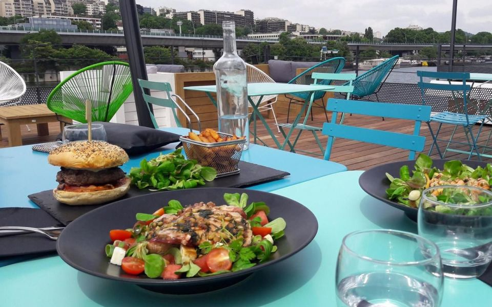 Reef Club Déjeuner en terrasse