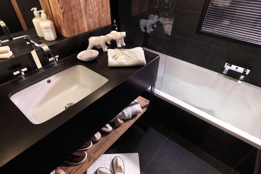 Le M de Megève ***** Salle de bain