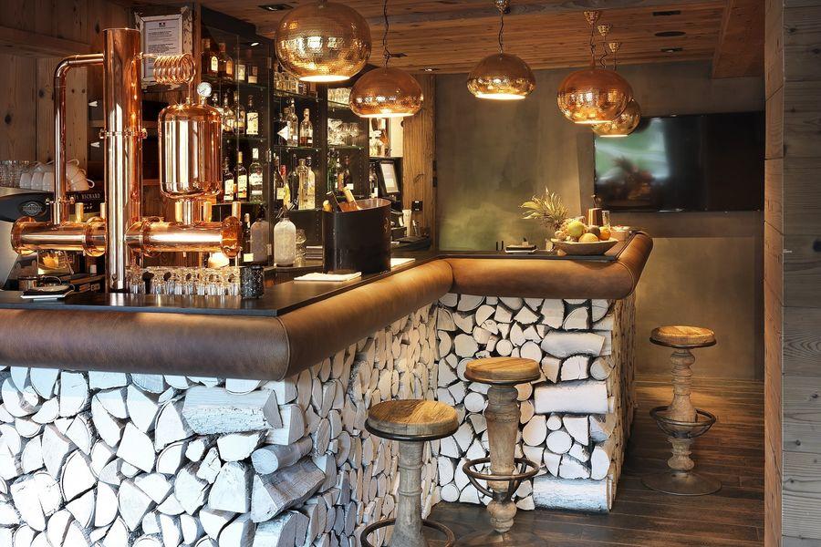 Le M de Megève ***** Le Bar du M