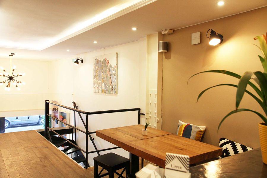 Upper Concept store Mezzanine bar