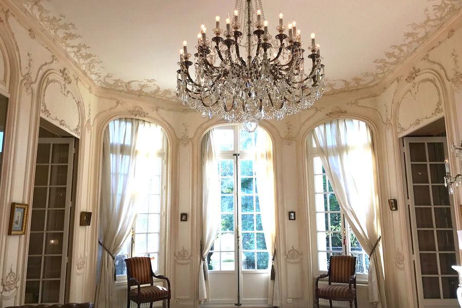Villa Les Cèdres Salon Joséphine