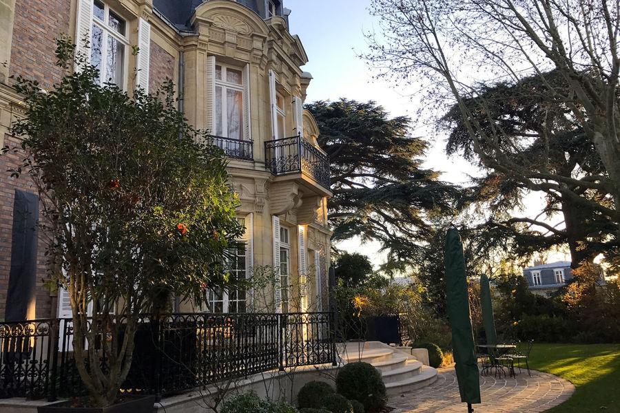 Villa Les Cèdres Façade