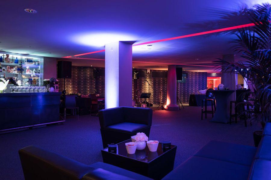 Hôtel Banke ***** - Salle des Coffres  Mise en place cocktail Salle des Coffres - Hôtel Banke 5*