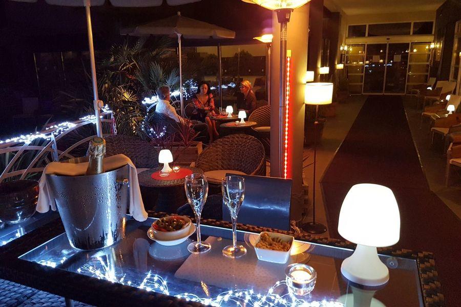 Hôtel la Fauceille **** Bar extérieur