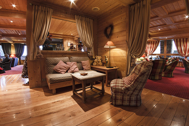Hôtel Aux Ducs De Savoie **** Salon