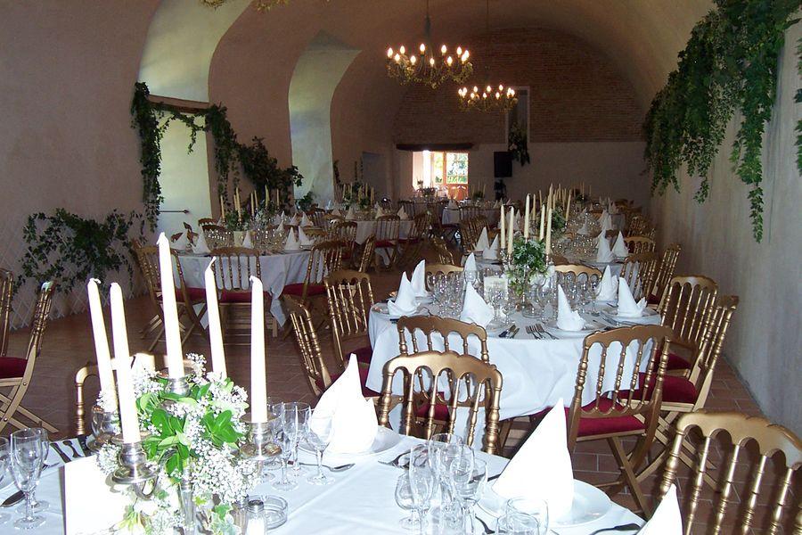 Château de Caumont diner salle