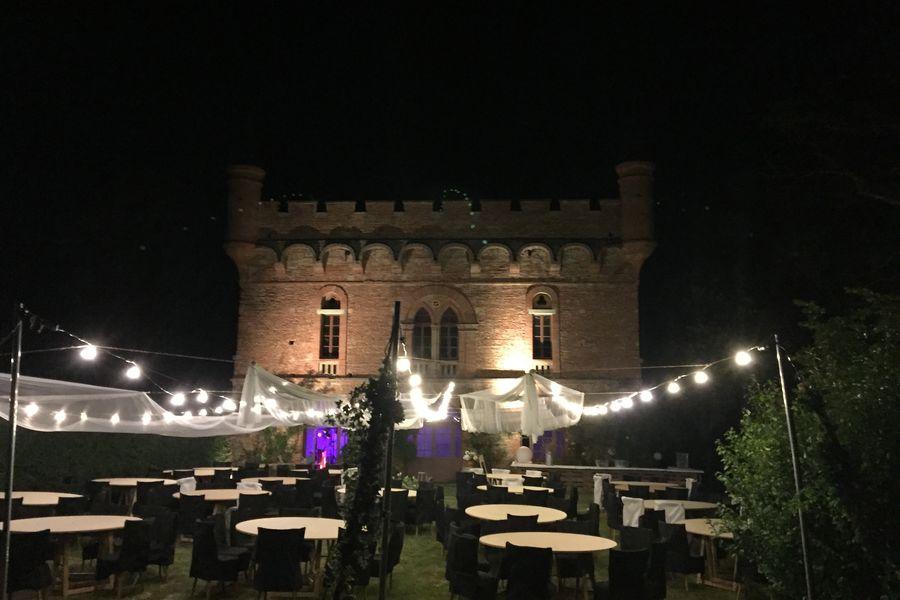 Château de Caumont soirée orangerie