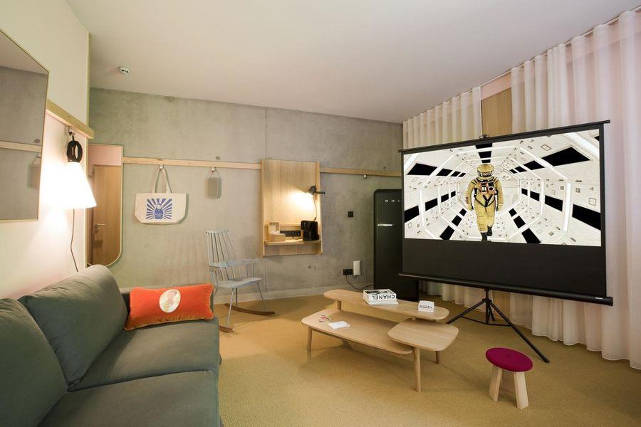 Mob Hotel - Lyon Confluence Chambre