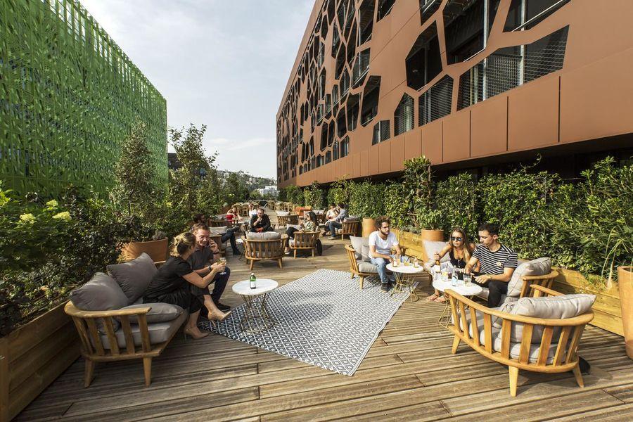 Mob Hotel - Lyon Confluence Terrasse