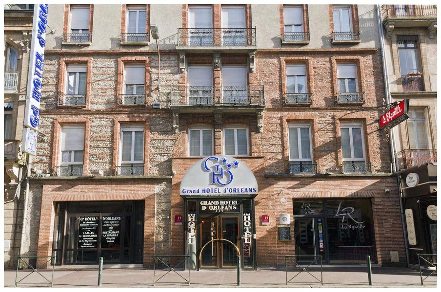 Grand Hôtel D'Orléans *** Façade