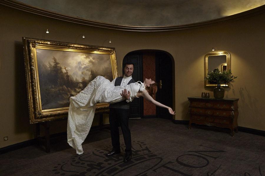 Hôtel Carlton **** Couloir