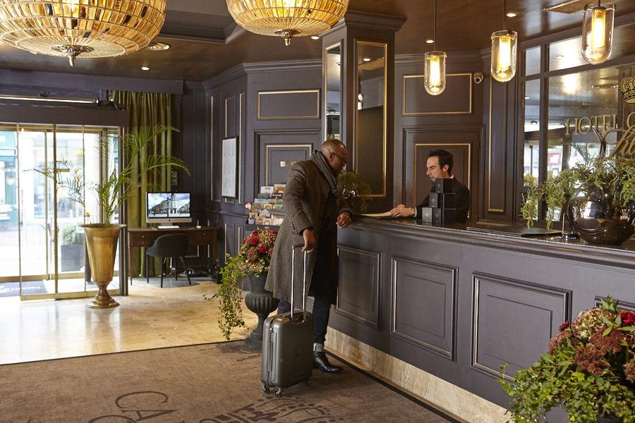 Hôtel Carlton **** Accueil
