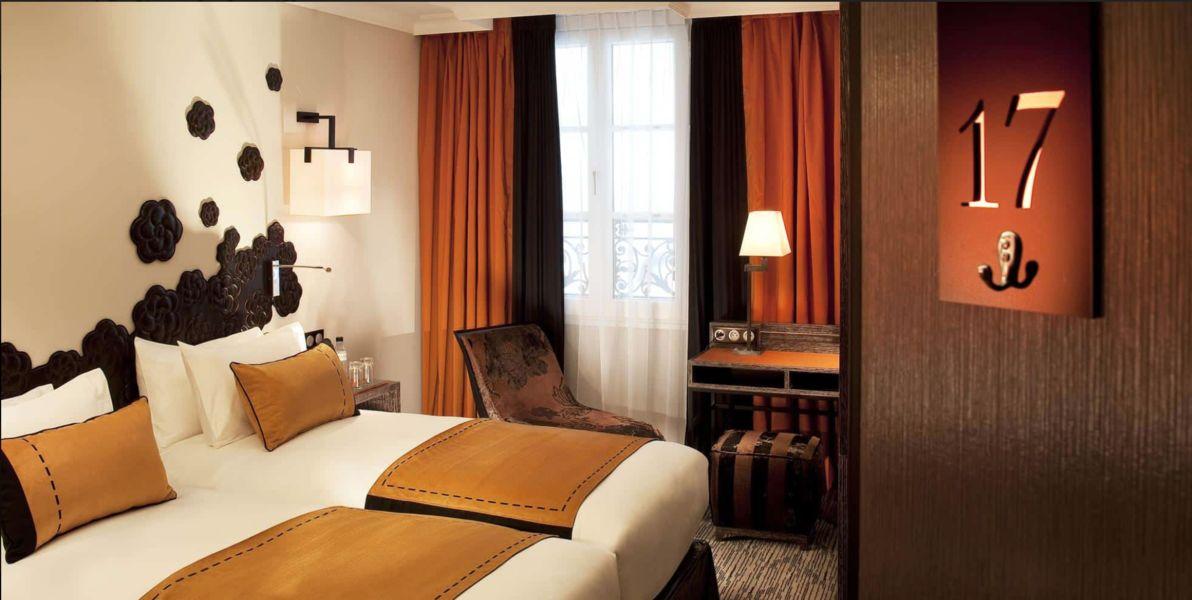 Jardins de La Villa Hôtel **** Chambre