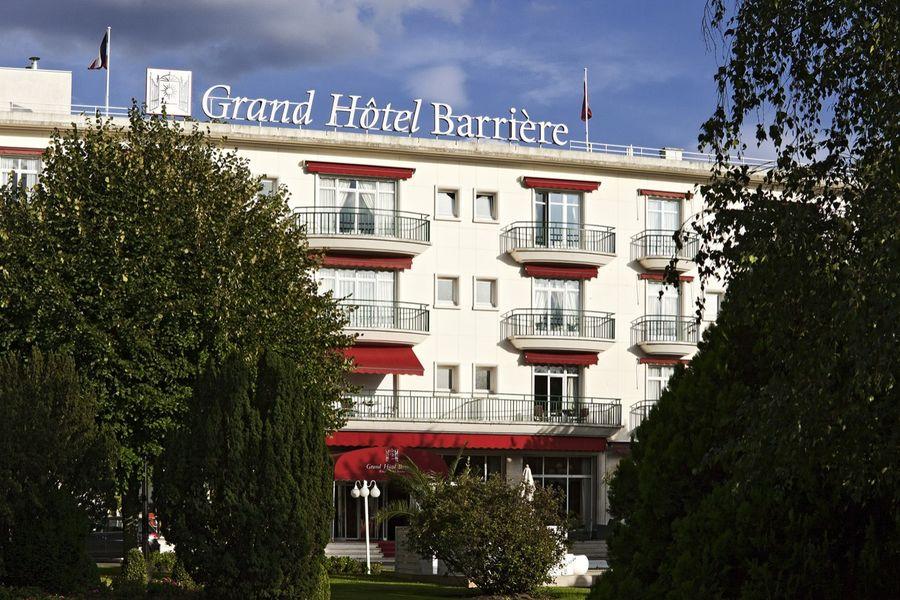 Le Grand Hôtel Enghien-Les-Bains **** Façade