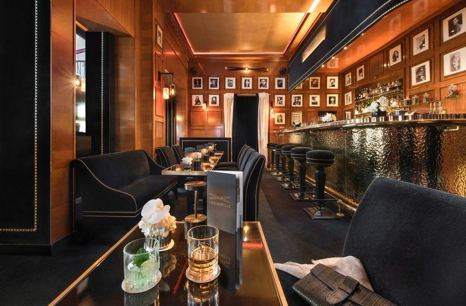 Hôtel Barrière Le Fouquet's ***** Bar l'Escadrille