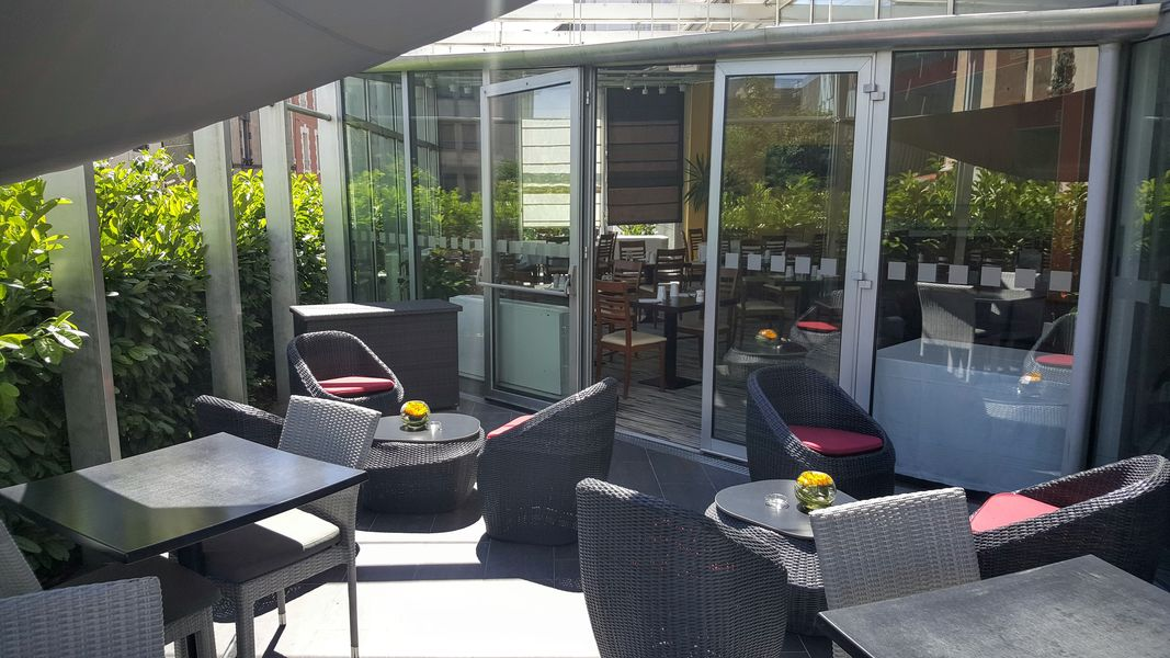 Holiday Inn Clermont Ferrand Centre **** Terrasse
