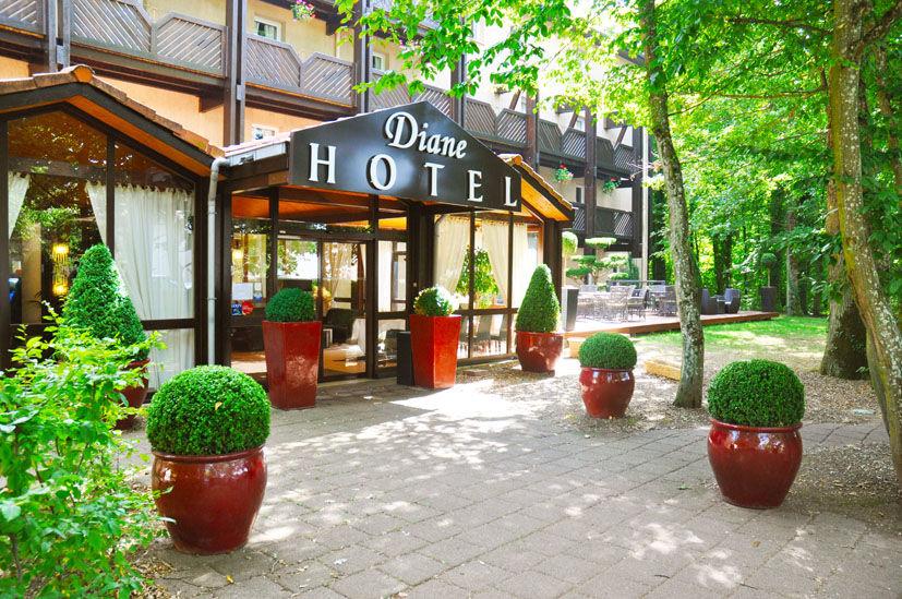 Hôtel Diane Entrée Hôtel Diane