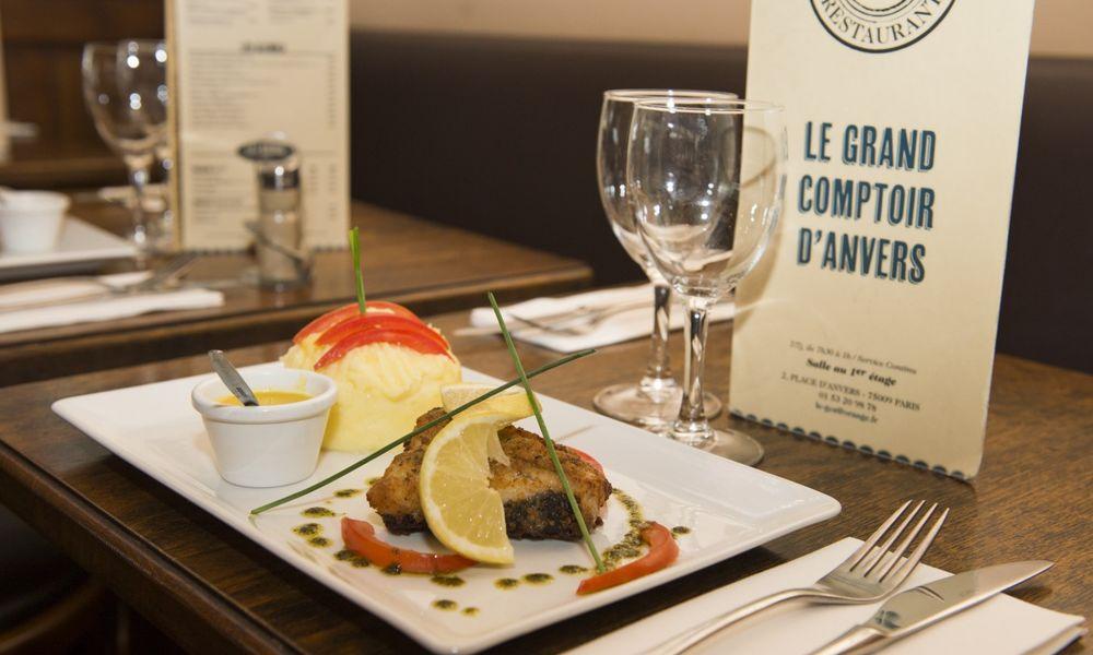 Le Grand Comptoir d'Anvers Proposition culinaire