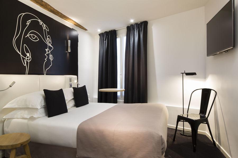 Hôtel Montparnasse Saint-Germain *** chambre double