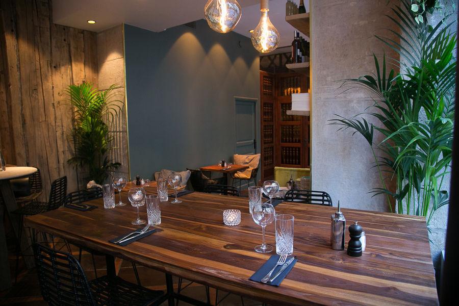 Les Bains du Marais salle de restaurant 2