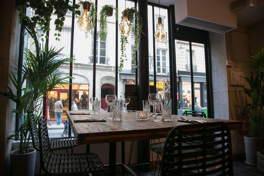Les Bains du Marais salle de restaurant 1