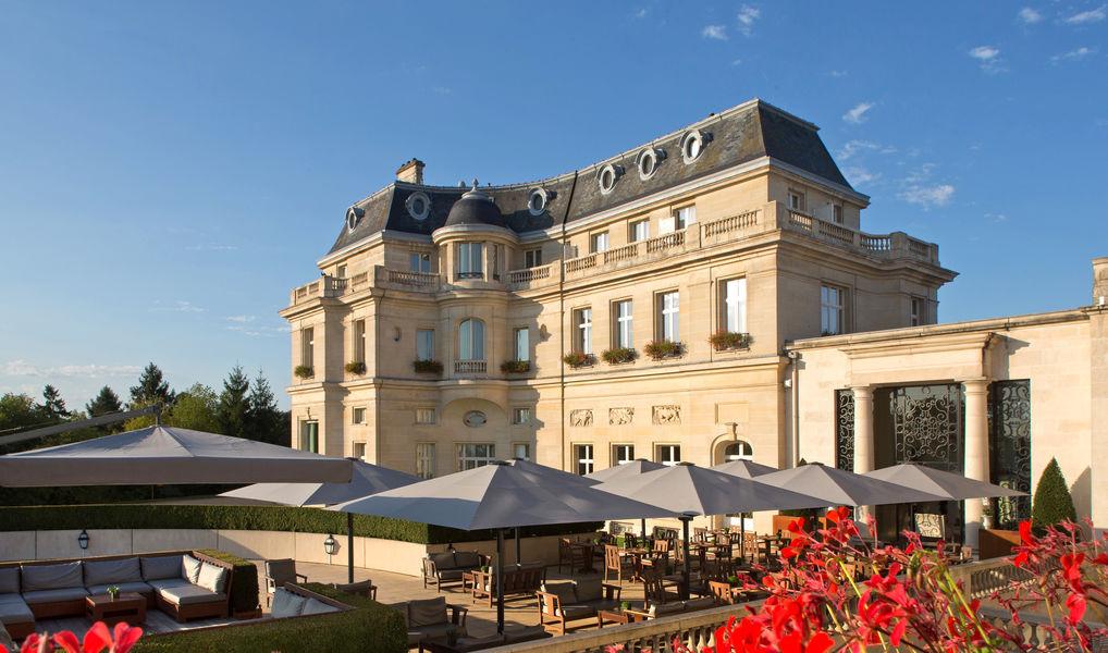 Tiara Château Hôtel Mont Royal ***** Terrasse Espace Pause - Cocktail extérieur
