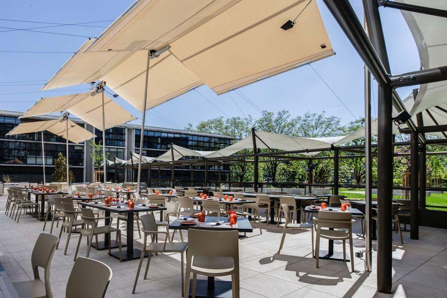 Hôtel ParkSaône terrasse restaurant